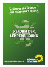 """Vorschaubild Konzept """"Reform der Lehrerbildung"""""""