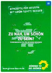 Vorschaubild Konzept 22 - Tourismuspolitik für Hessens Regionen