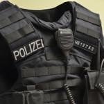 Polizeiweste mit Kennzeichnung