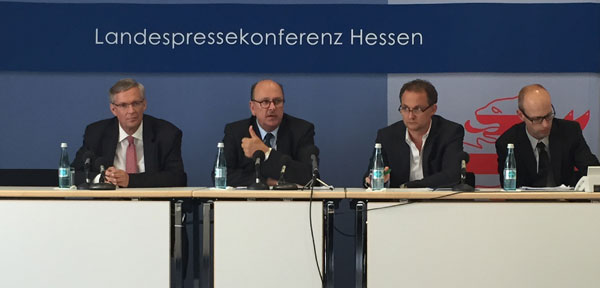 Pressekonferenz Langzeitarbeitslose mit Marcus Bocklet und Stefan Grüttner