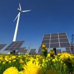 Umweltpolitik, Energiepolitik, Windkraft, Windrad, Erneuerbare Energien, Natur, Solarenergie