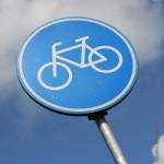 Verkehr, Radwege, Schild, Fahrrad, Verkehrspolitik