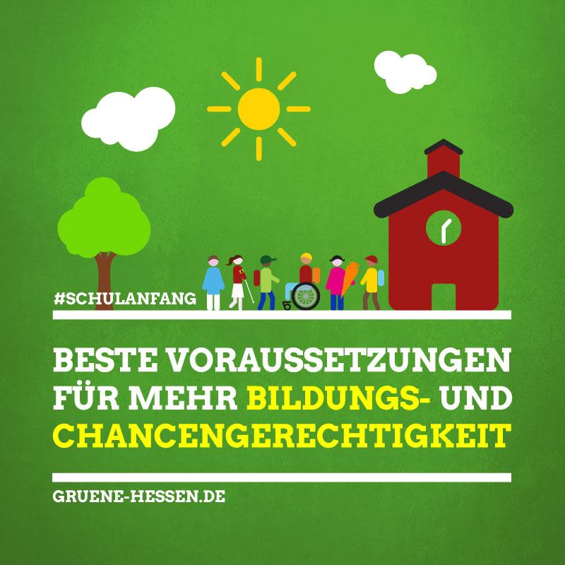 Schulanfang: Beste Voraussetzungen für Bildungs- und Chancengerechtigkeit