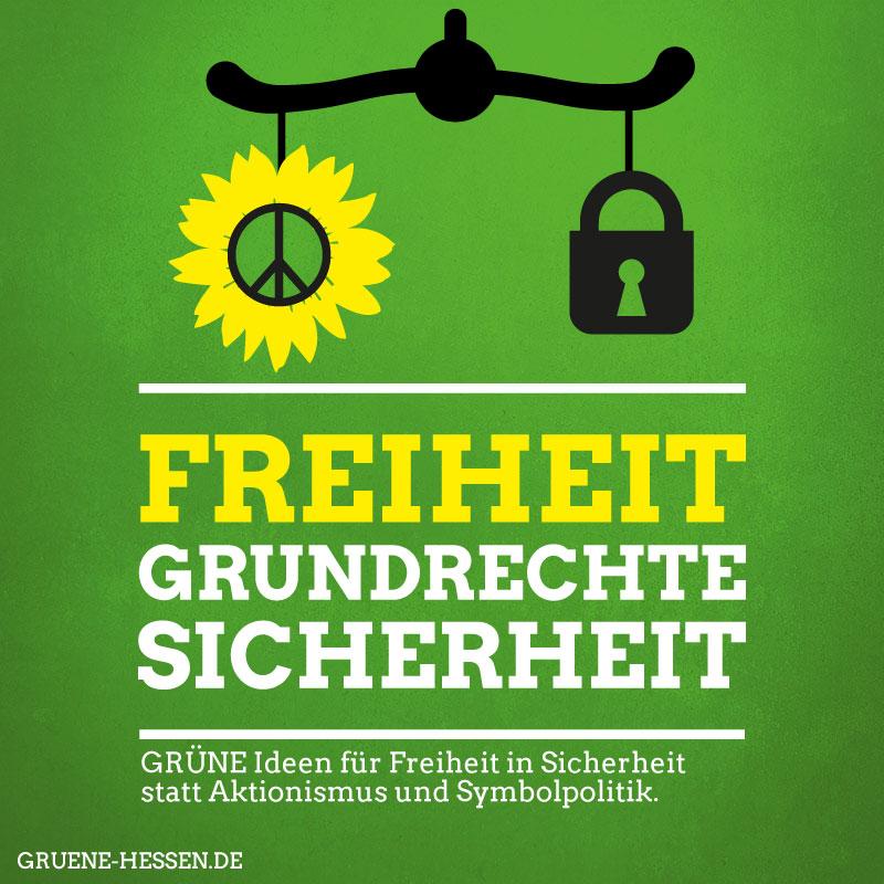 Freiheit, Grundrechte, Sicherheit