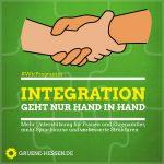 Wir-Programm - Integration geht nur Hand in Hand