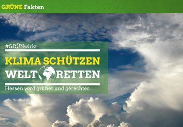 Grüner Fakt: Klima schützen - Welt retten