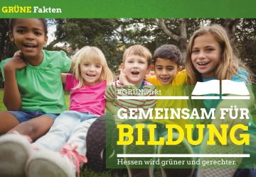 Grüner Fakt: Gemeinsam für Bildung