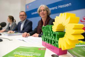 Konzept 1 - Mobilität. Pressekonferenz mit Karin Müller und Mathias Wagner