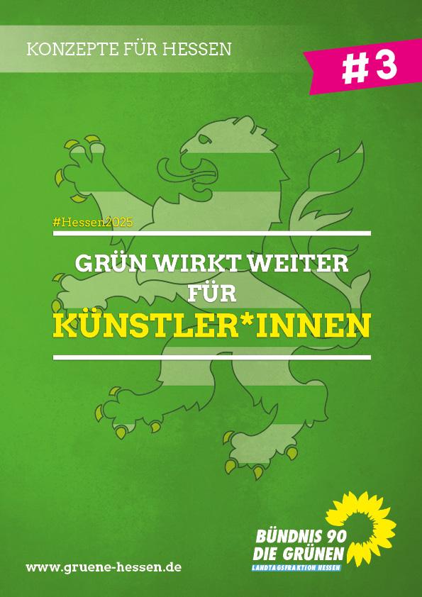 Grün wirkt weiter: Für Künstler*innen - Konzept #3