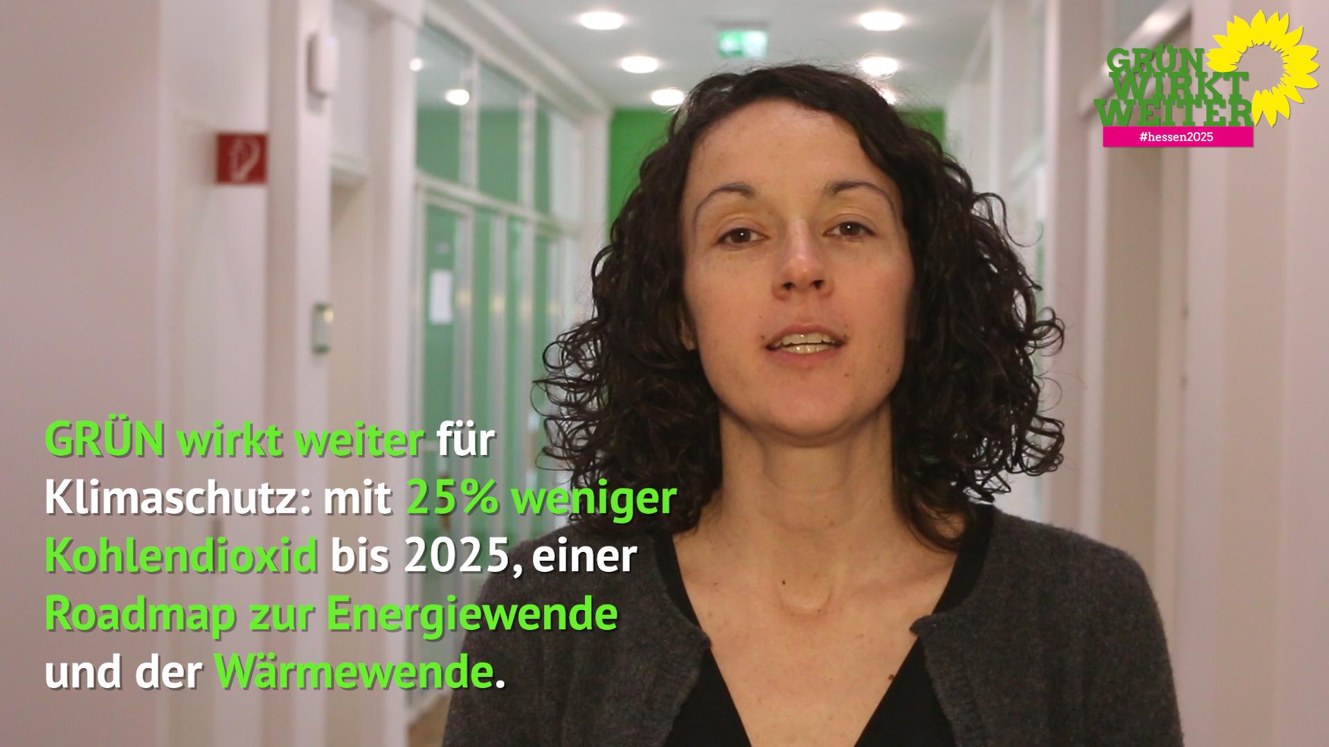 Angela Dorn zum GRÜNEN Klimakonzept