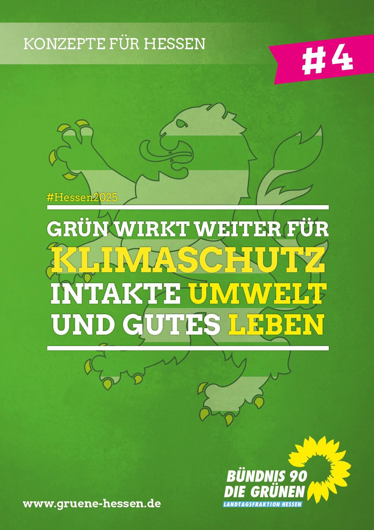 Grün wirkt weiter: für Klimaschutz - Konzept #4