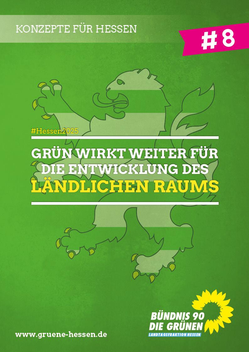 Grün wirkt weiter: Für den ländlichen Raum - Konzept #8