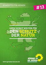Deckblatt Konzept #13 - Schutz der Natur