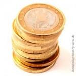 Münzen, Finanzpolitik, Geld