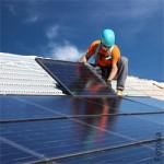 Industrie, Facharbeiter, Solarenergie, Natur, Erneuerbare Energie