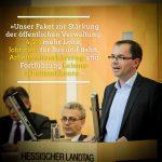 Zitat Mathias Wagner zum Thema Beamtenbesoldung