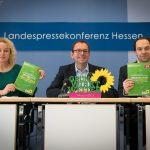 #hessen2025 - GRÜN wirkt weiter. Pressekonferenz mit Martina Feldmayer, Mathias Wagner und Daniel May