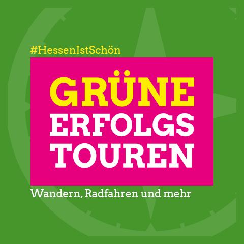 GRÜNE Erfolgstouren - Wandern, Radfahren und mehr in Hessen