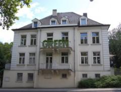 Das Gebäude der Landesgeschäftsstelle (LGS) in Wiesbaden (Kaiser-Friedrich-Ring 77)