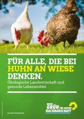 Plakat BÜNDNIS 90/DIE GRÜNEN Hessen zur Kommunalwahl 2016