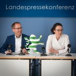 Landesvorsitzenden Angela Dorn und Kai Klose