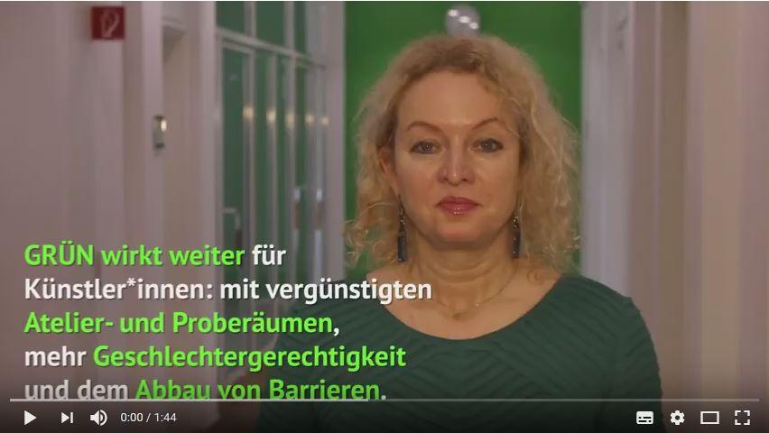 Martina Feldmayer zum GRÜNEN Kulturkonzept