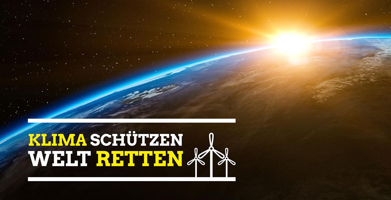 Klima schützen Welt retten