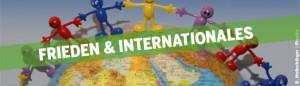 Header Frieden und Internationales