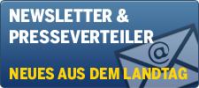Banner: Newsletter und Presseverteiler - neues aus dem Landtag