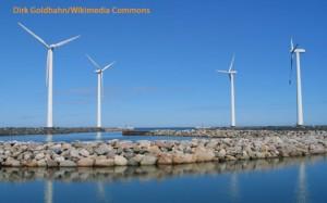 Windkraftanlagen, Klima und Energie groß