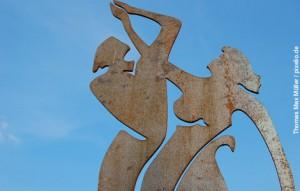 Tanzen - Skulptur