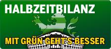Banner: Halbzeitbilanz: Mit GRÜN geht's besser