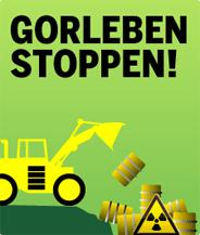Gorleben Stoppen. Demoaufruf 2011