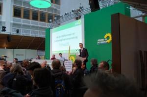 Der politische Geschäftsführer Matthias Münz eröffnet seine letzte LMV. Vielen Dank Matthias.