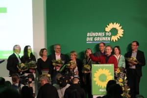 Dank an die grüne Verhandlungsgruppe bei den Koalitionsverhandlungen mit der CDU Hessen