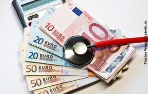 Geld im Gesundheitswesen