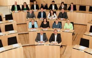 Fraktion im Plenum