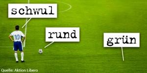 Bild: Homophobie im Fußball