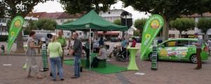 Impression von der Konzepte für Hessen - Tour 2012 in Groß-Gerau am 24. August 2012