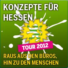 Konzepte für Hessen Tour 2012