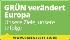 GRÜN verändert Europa. Unsere Ziele, unsere Erfolge - www.greens2014.eu/de