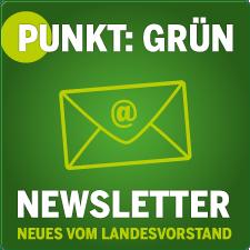 Banner Newsletter Punkt: Grün