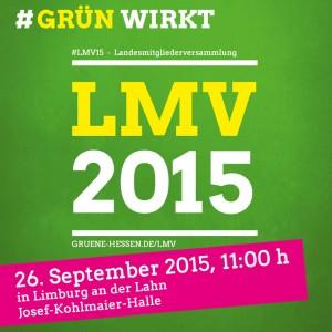 """Bild für die Sozialen Netzwerke: """"LMV 2015 - 26. September 2015 in Limburg"""""""