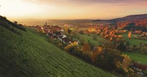 Hintergrundbild ländlicher Raum und Landwirtschaft
