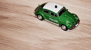 Spielzeug-Polizeiauto