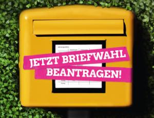 Kommunalwahl 2016: Jetzt Briefwahl beantragen!