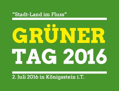 """Stadt-Land im Fluss"" - grüner Tag 2016 - 2. Juli Königsstein i.T."