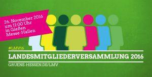 Landesmitgliederversammlung 2016 - 26. November 2016 in Gießen