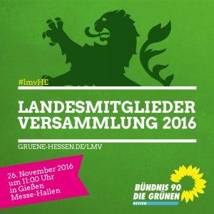 Landesmitgliederversammlung 2016 in Gießen