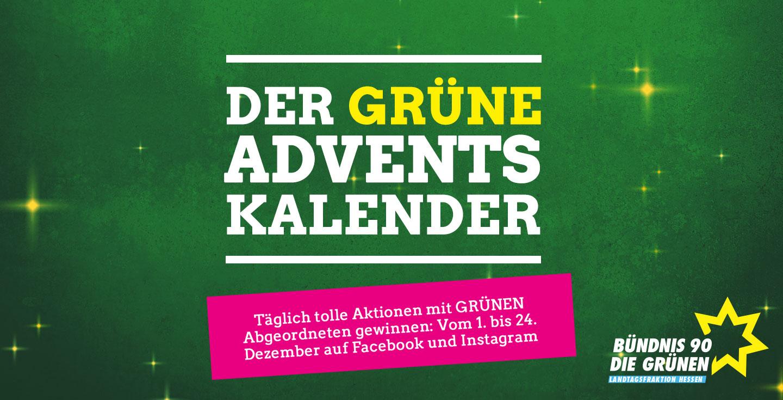 Der GRÜNE interaktive Adventskalender